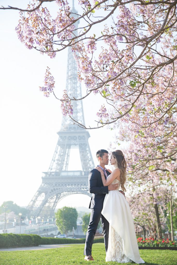 Shangri La Luxury Paris Wedding